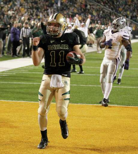 Baylor quarterback Nick Florence has decided to pursue a master's degree instead of an NFL career. Photo: LM Otero, STF / AP