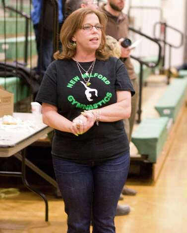 New Milford coach Bethany Mihaly. Photo: Barry Horn / The News-Times Freelance