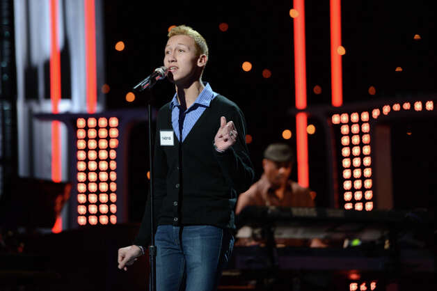 AMERICAN IDOL: Hollywood Round: Devin Velez performs on Thursday, Feb. 7 (8:00-9:00 PM ET/PT). ©2013 Fox Broadcasting Co. CR: Michael Becker / FOX.