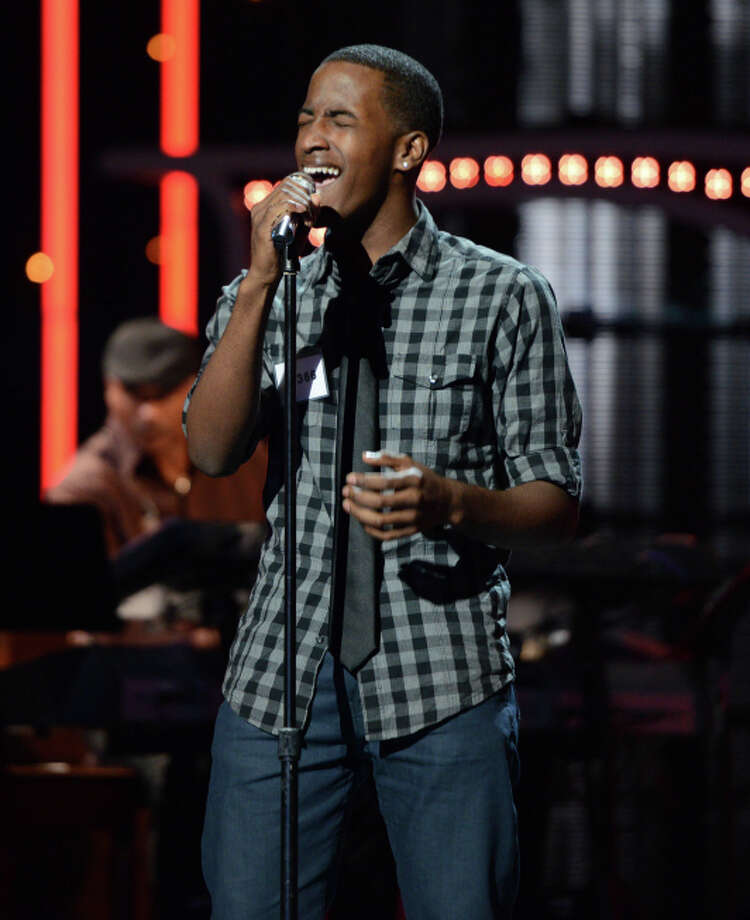 AMERICAN IDOL: Hollywood Round: Cortez Shaw performs on Thursday, Feb. 7 (8:00-9:00 PM ET/PT). ©2013 Fox Broadcasting Co. CR: Michael Becker / FOX.