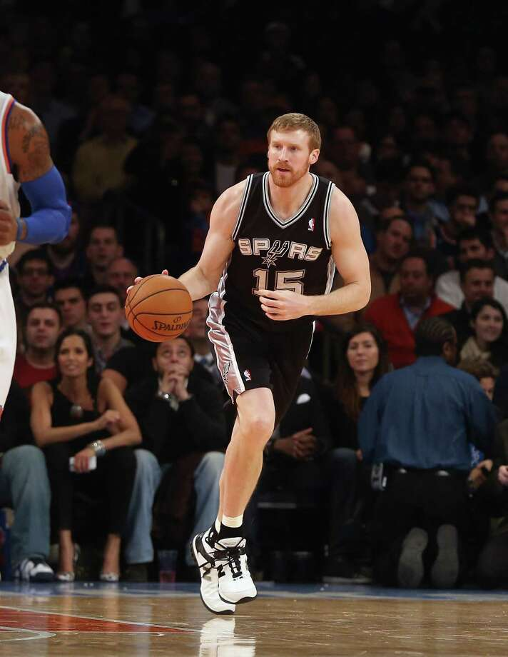 """Matt Bonner says, """"I guarantee nobody in the history of the 3-point contest has been as excited as I am to be there."""" Photo: Bruce Bennett / Getty Images"""