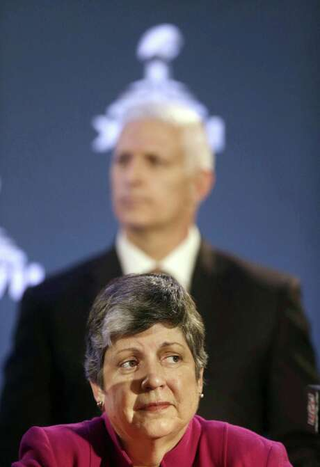 Homeland Security chief Janet Napolitano visited El Paso this week.