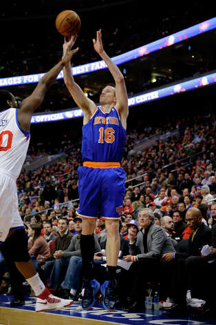 Eastern Conference 3-point Shootout participantSteve Novak Marquette career mark for three-point field goals made (354) and also led the NBA in three-point field-goal percentage in 2011-12. He played for the Rockets from 2006-08. Photo: Matt Slocum, Associated Press / AP