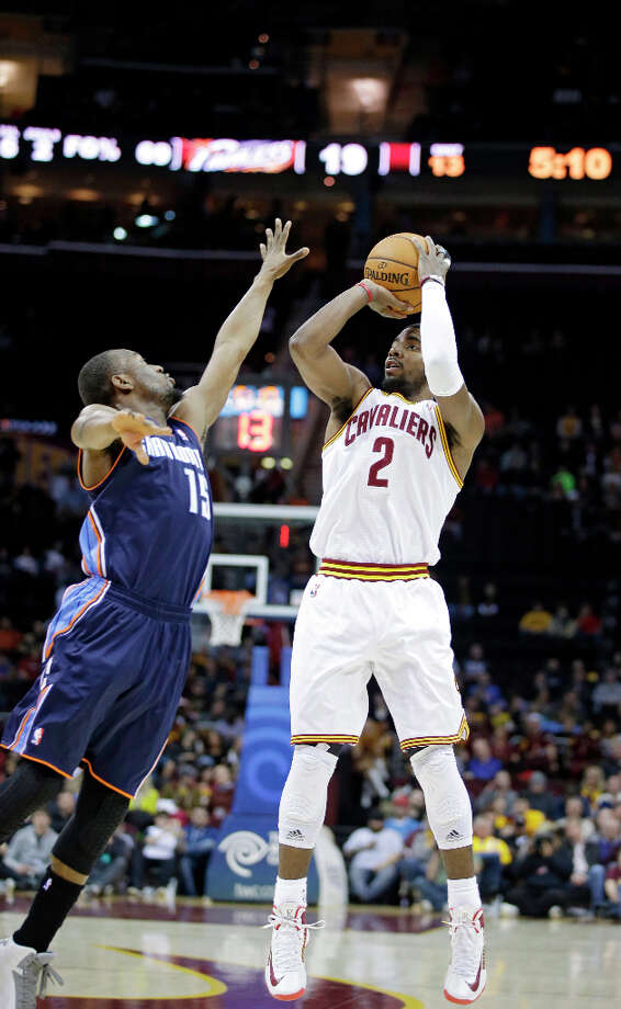 Eastern Conference 3-point Shootout participantKyrie Irving won the 2012 NBA Rookie of the Year Award. He was the 1st overall selection in the 2011 draft. Photo: Mark Duncan, Associated Press / AP