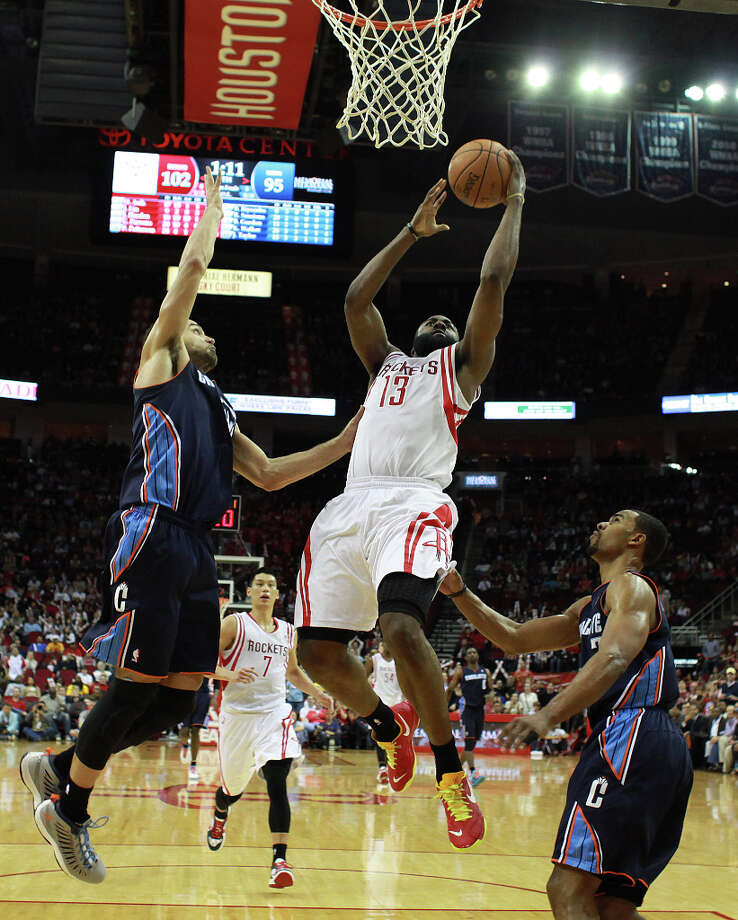 Shooting Stars: Team HardenJames Harden is making his first career All-Star appearance in his first season as a full-time starter in the NBA. Photo: Nick De La Torre, Chronicle / © 2010 Houston Chronicle