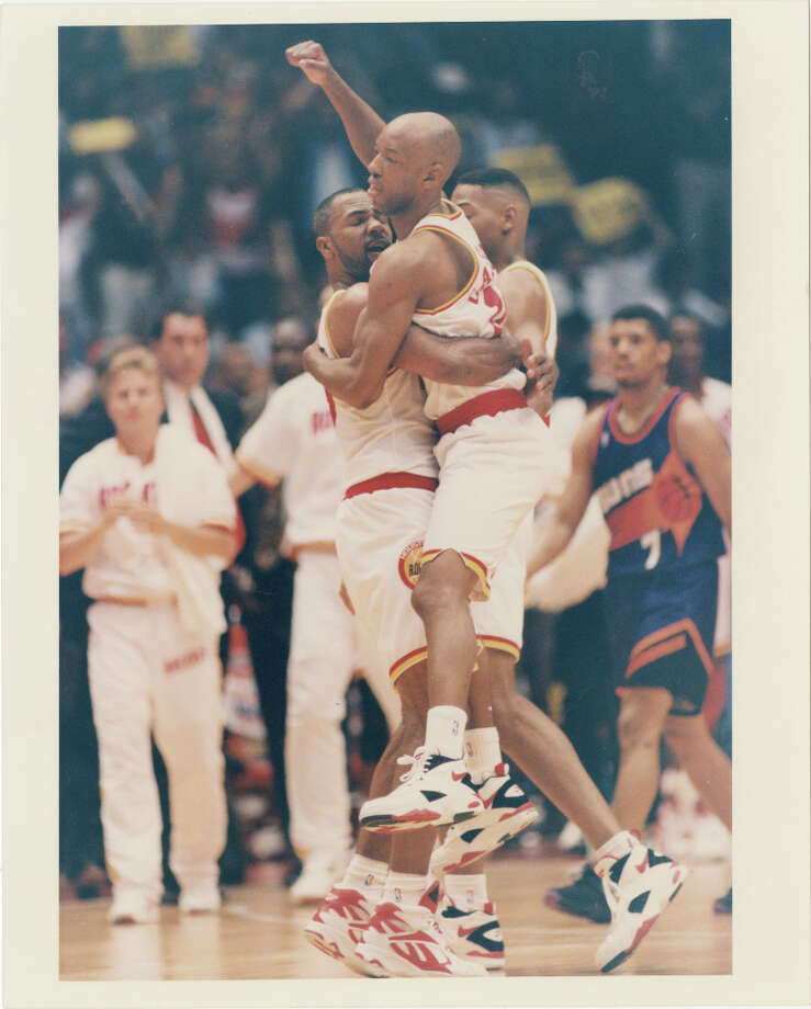 Shooting Stars: Team HardenSam Cassell won two NBA Championships with the Rockets in his first two seasons in the NBA. Photo: Ira Strickstein, Houston Chronicle / Houston Post files