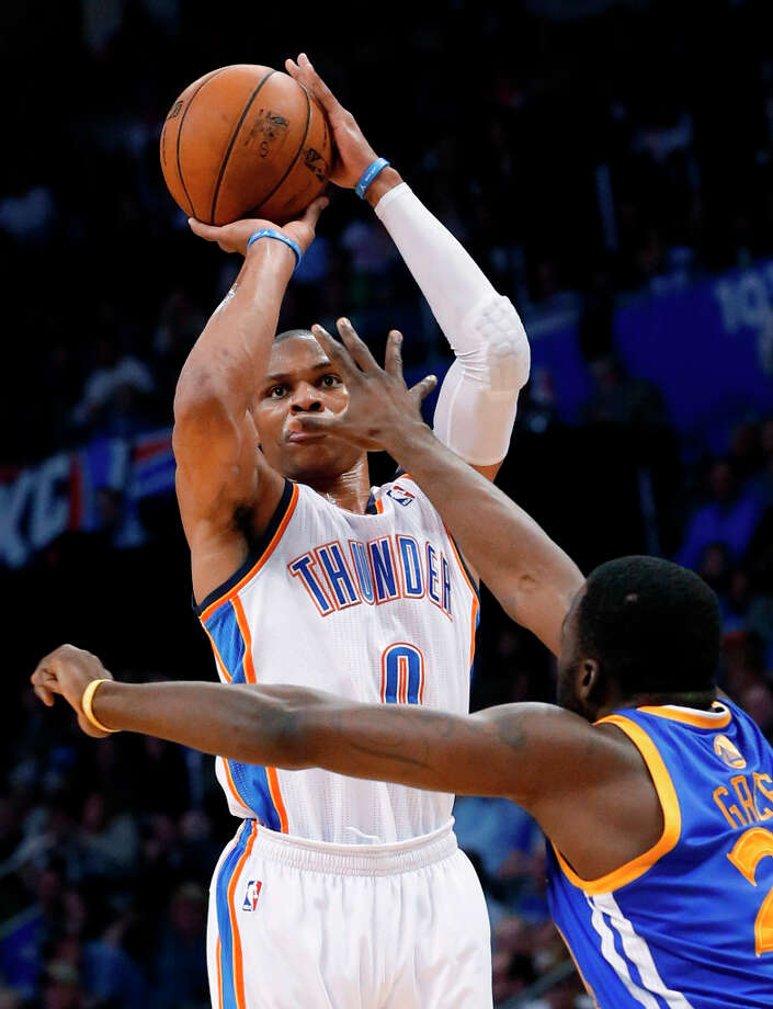 Shooting Stars: Team WestbrookRussell Westbrook will lead his Shooting Stars team against his former teammate, James Harden. Photo: Sue Ogrocki, Associated Press / AP
