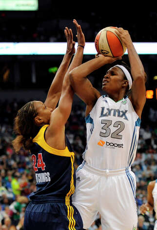 Shooting Stars: Team LopezTamika Catchings was selected as an all-star in her rookie season in 2002. In 2011, she was voted in by fans as one of the Top 15 players in WNBA history. Photo: Hannah Foslien, Getty Images / 2012 Getty Images