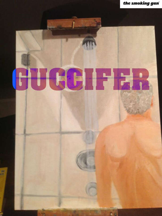 According to The Smoking Gun, the hacker exposed a photo of a George W. Bush self-portrait of the former president in the shower.