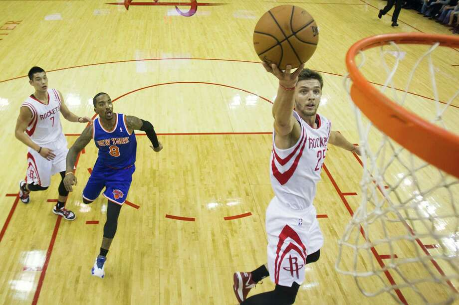 Rockets forward Chandler Parsons will play in the Rising Stars Challenge. Photo: Smiley N. Pool, Staff / © 2012  Houston Chronicle