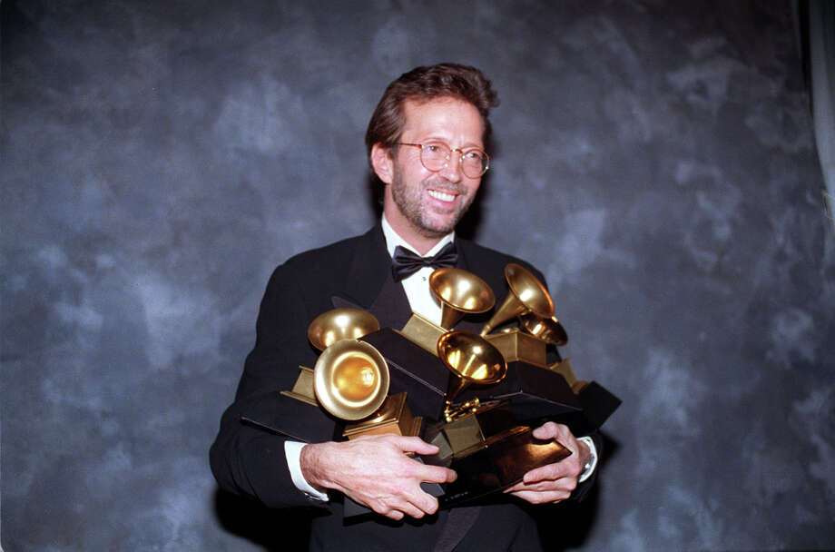 Eric Clapton beats Nirvana (1992): Think of the early '90s and you can't help but think of Nirvana's Smells Like Teen Spirit, easily one of the greatest rock songs ever. Not according to the members of the Recording Academy, who thought the year was better defined by an acoustic reworking of Eric Clapton's 1971 ballad Layla, recorded for a yawn-inducing episode of MTV Unplugged. Photo: DOUGLAS C. PIZAC, ASSOCIATED PRESS / AP1993