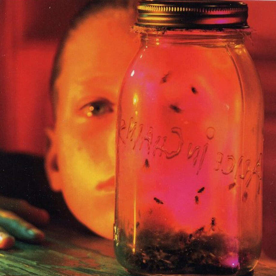 "Alice in Chains – ""Jar of Flies:"" Here's another big 1994 release by a Seattle band. ""Jar of Flies"" was the first EP to debut at No. 1 on the Billboard 200 Albums chart, and is still one of the band's biggest sellers. (Album cover)"