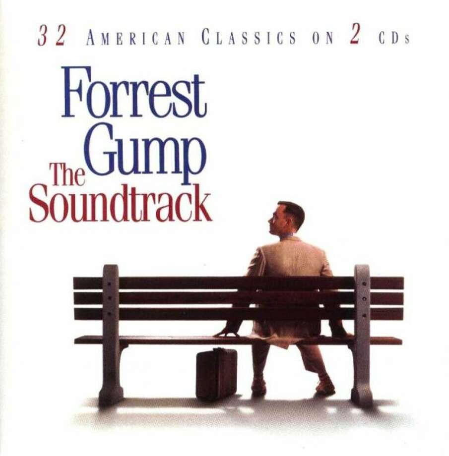 """The Forest Gump Soundtrack:It also was a great year for movies in 1994 with """"Pulp Fiction,"""" """"The Shawshank Redemption,"""" """"Dumb and Dumber,"""" """"Clerks,"""" """"Ace Ventura: Pet Detective,"""" The Lion King,"""" Speed,"""" and """"Forrest Gump."""" The """"Forrest Gump"""" soundtrack had dozens of classic American songs and – in the era before CD burners – sold millions of copies. (Album cover)"""