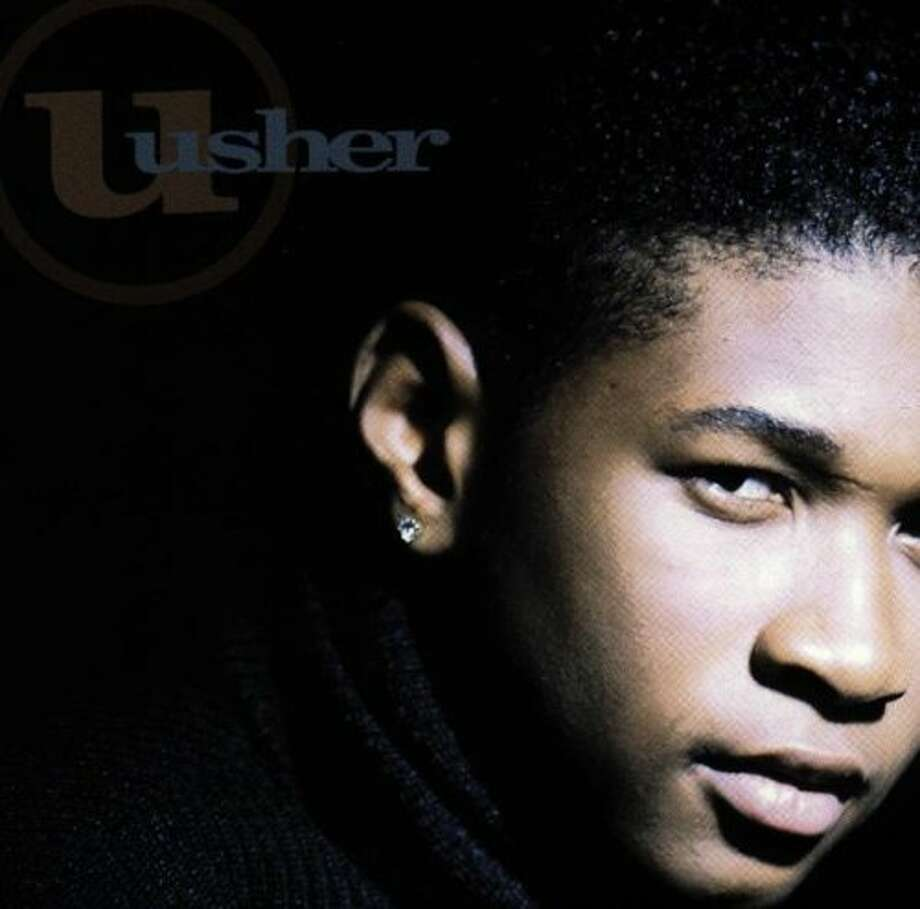 "Usher - ""Usher:""Was Usher really around in 1994? He was, and Sean ""P Ditty"" Combs was a producer on this debut disc. (Album cover)"