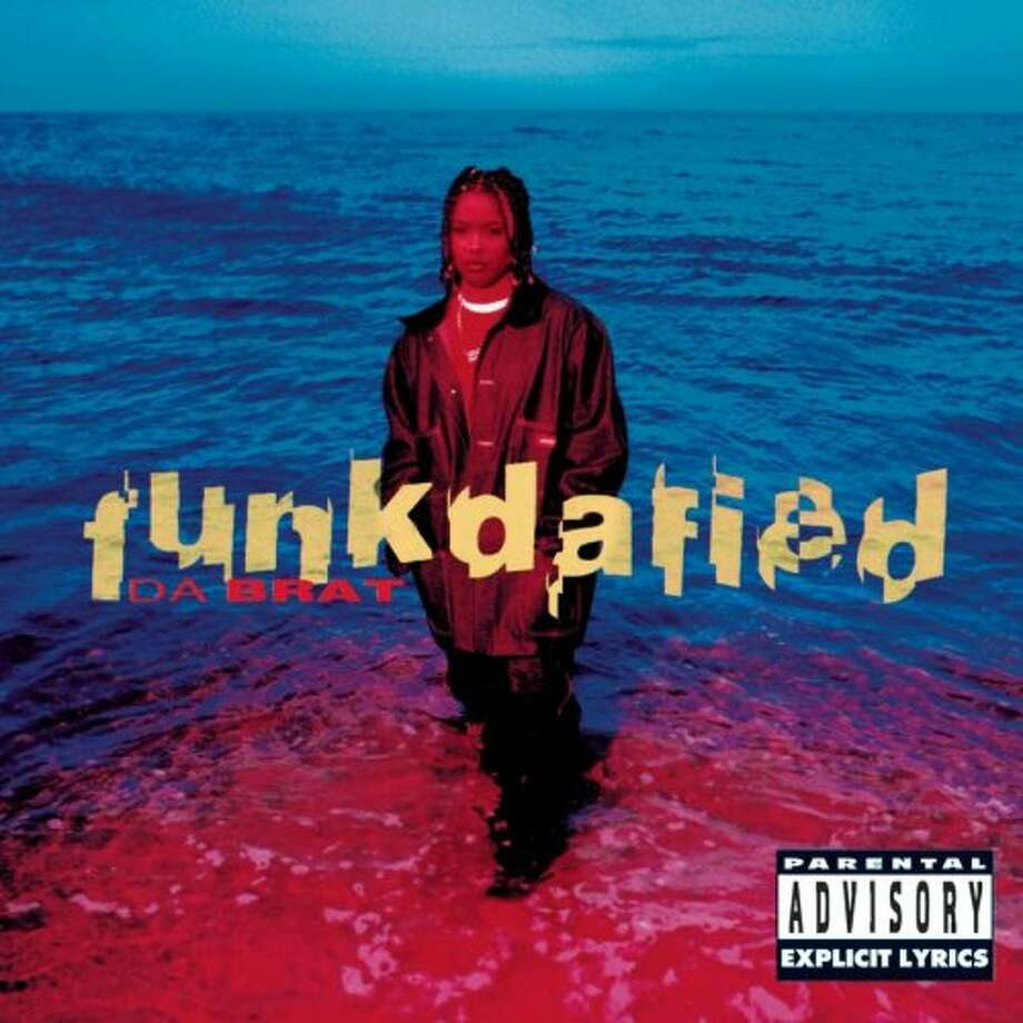 "Da Brat - ""Funkdafied:"" Not epic - not even close - but so 1990s. (... like Janet, damn it.) The debut album peaked at No. 11 on the Billboard 200 Albums chart. (Album cover)"