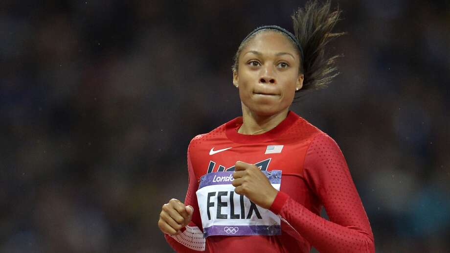 Allyson Felix is among the U.S. track athletes scheduled to work out at Prairie View.
