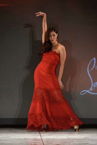 Actress Roselyn Sanchez walks the runway.