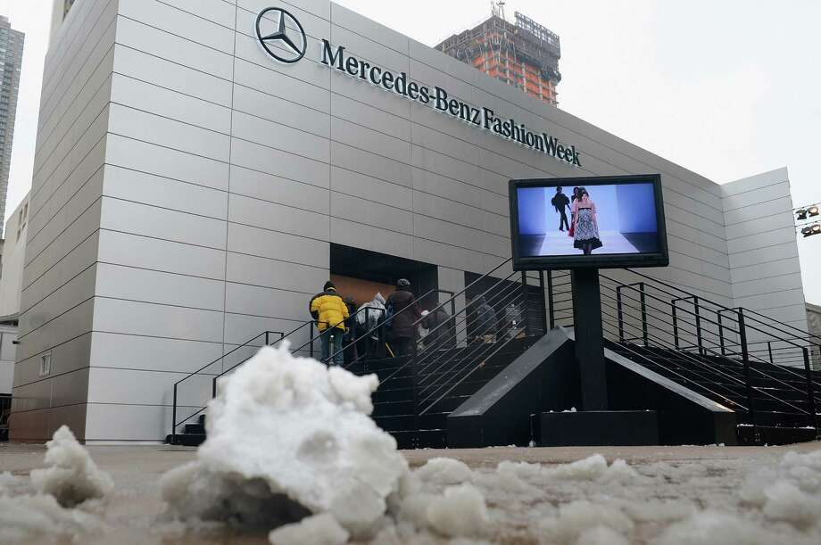 A general view of atmosphere during Fall 2013 Mercedes-Benz Fashion Week at Lincoln Center for the Performing Arts on February 8, 2013 in New York City.  (Photo by Andrew H. Walker/Getty Images for Mercedes-Benz Fashion Week) Photo: Andrew H. Walker, (Credit Too Long, See Caption) / 2013 Getty Images