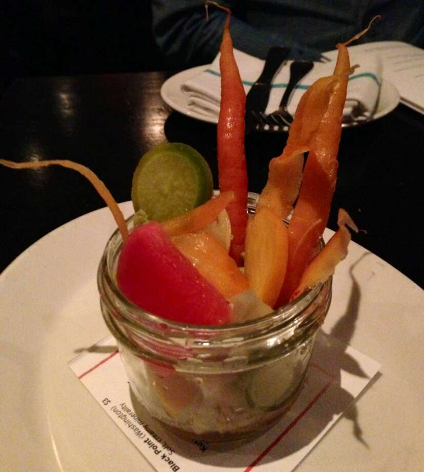 Winter pickles at Hog and Rocks