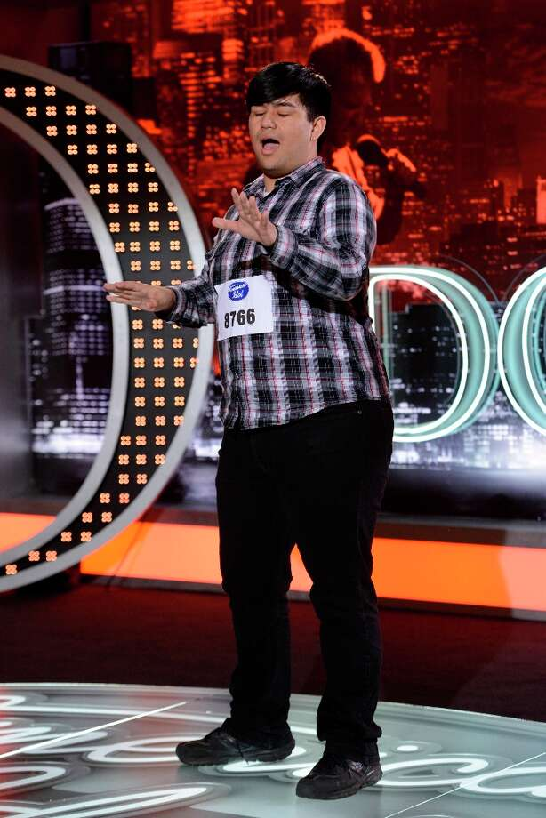 AMERICAN IDOL: Adam Sanders made it into the Top 28 -- guys. Photo: ;;