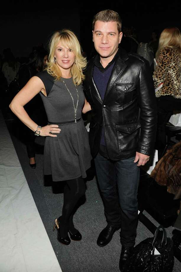 TV personalities Ramona Singer and Tom Murro attend the CZAR by Cesar Galindo Fall 2013 fashion show during Mercedes-Benz Fashion Week at The Studio at Lincoln Center on February 8, 2013 in New York City.  (Photo by Craig Barritt/Getty Images for Mercedes-Benz Fashion Week) Photo: Craig Barritt, (Credit Too Long, See Caption) / 2013 Getty Images