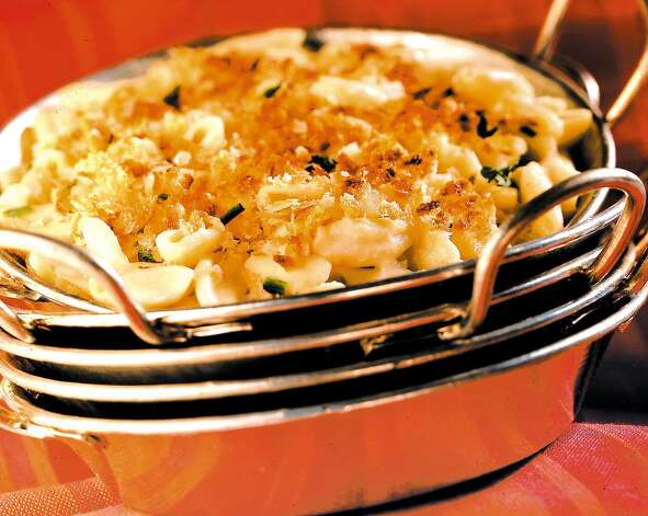 Mac-n-cheese. Need we say more?  (Times Union) Photo: BOB FILA / CHICAGO TRIBUNE