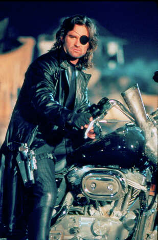 Kurt Russell as Snake Eyes in Escape from L.A.
