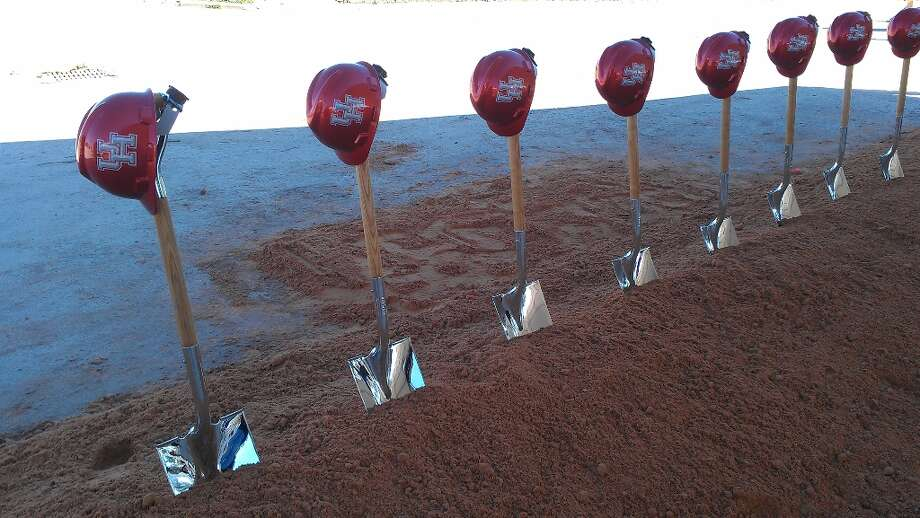 The University of Houston broke ground on its new football stadium in a ceremony on Friday.