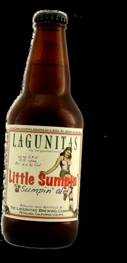 Local Foam Ranger and beer writer Bev D. Blackwood II noted that beers with suggestive names might be fun to include on a list. This one from Northern California brewer Lagunitas tastes great, too.