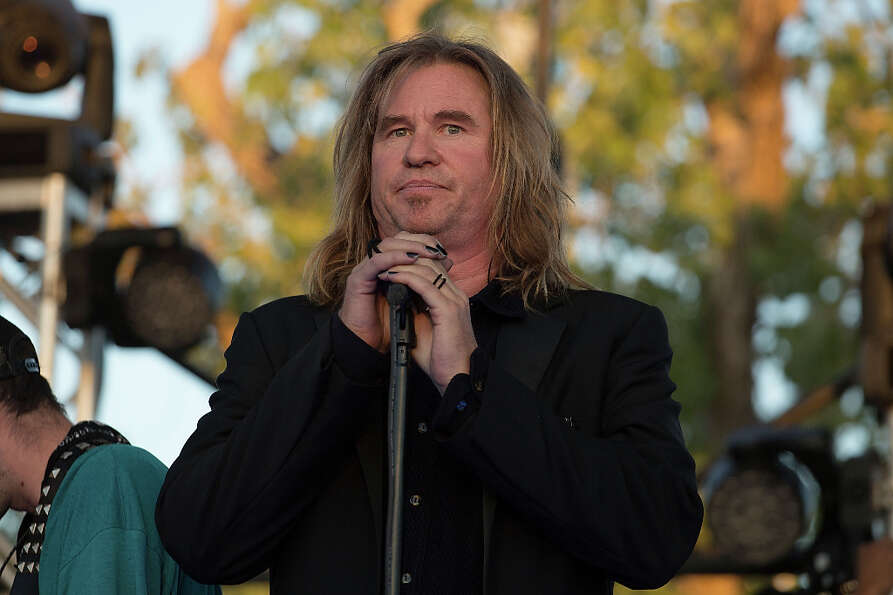 Val Kilmer in 2012, during filming in Austin of Terrence Malick's new movie.