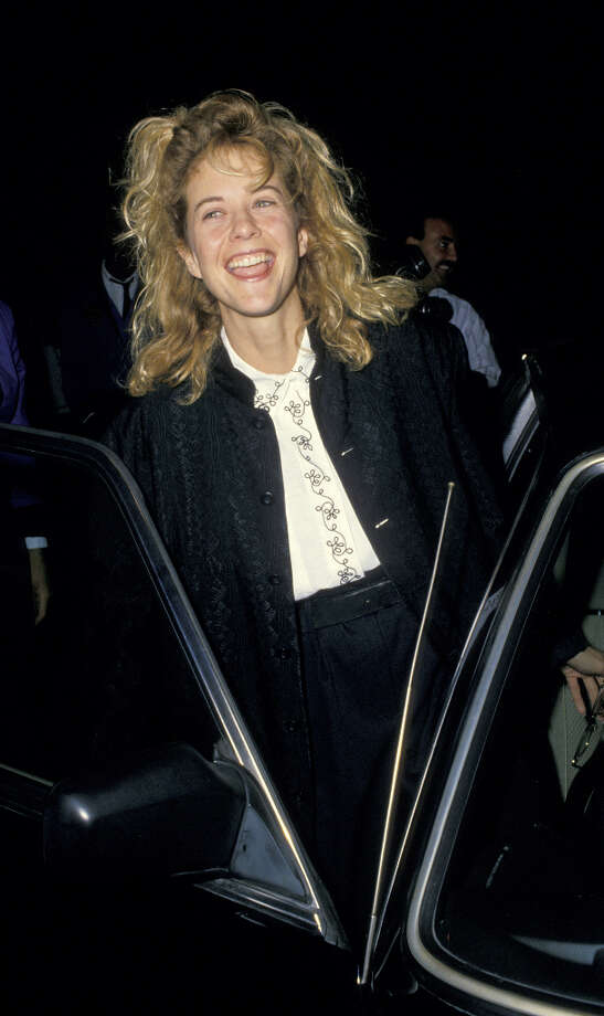 ''Top Gun'' didn't have a lot of Meg Ryan in it, but it captured the beginning of her adorable silliness, which became a hit in her later romantic comedies. Ryan is pictured in 1988. Photo: Ron Galella, WireImage / Ron Galella Collection