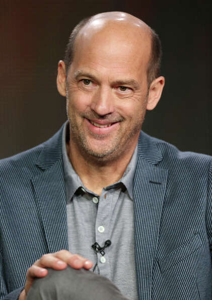 "Anthony Edwards in 2013, speaking about his upcoming TV series, ''""Zero Hour.''"""