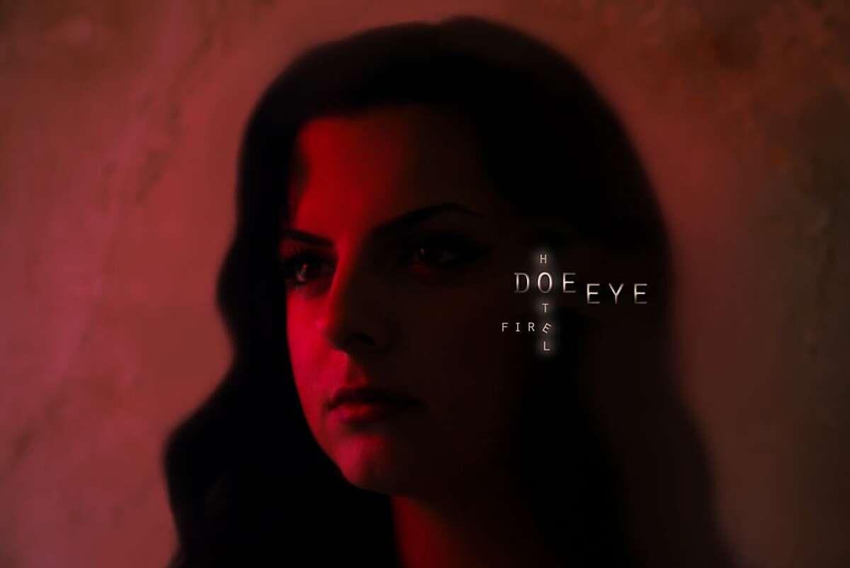 Doe Eye (aka Maryam Qudus), 'Hotel Fire' EP cover art.