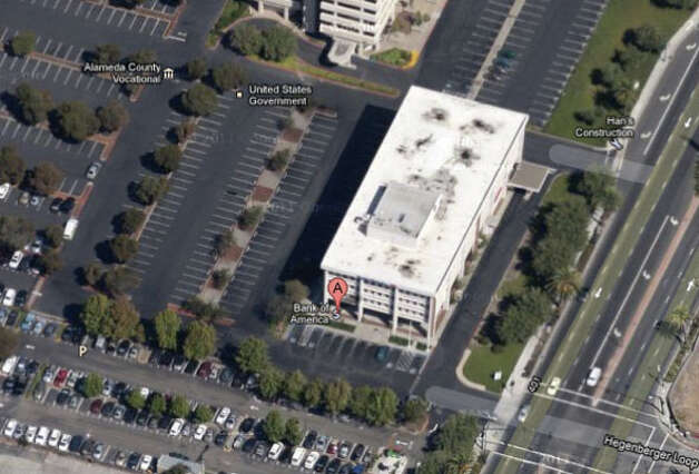 Bank of America at 303 Hegenberger Road in Oakland, CA Photo: Google Maps