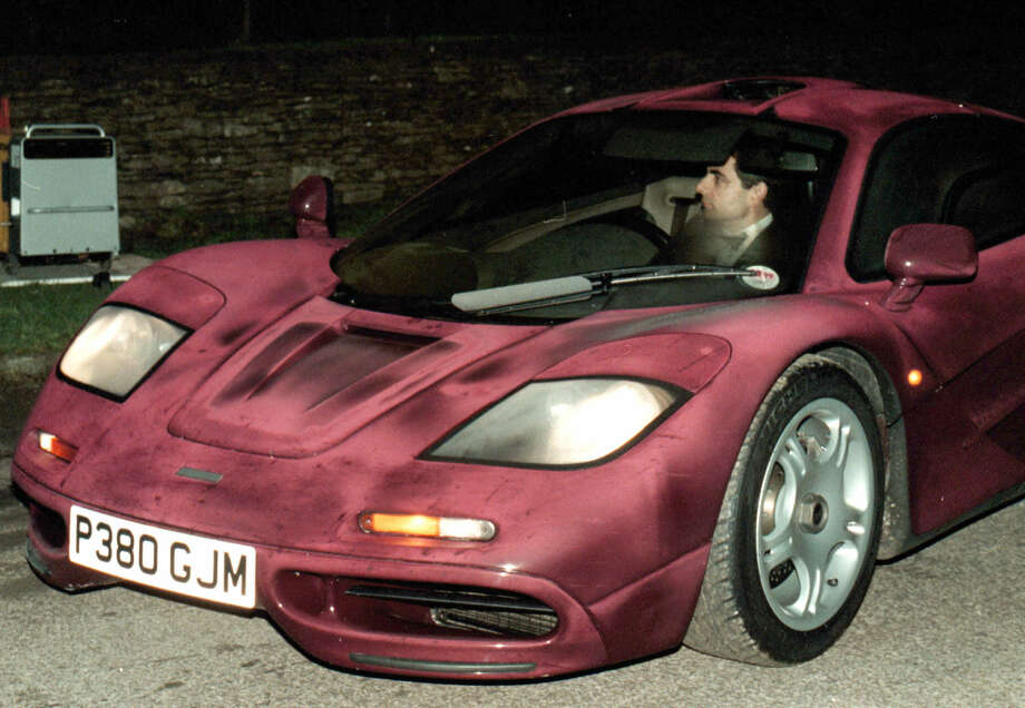Rowan Atkinson's McLaren F1. Photo: Barry Batchelor / Associated Press