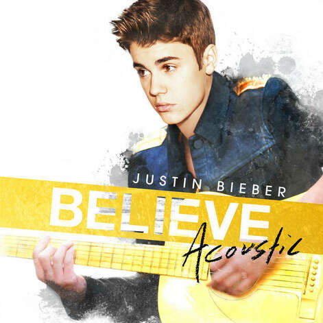 """Believe Acoustic"" by Justin Bieber Photo: Island"