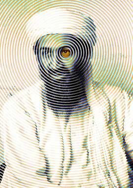 Osama Bin Laden photo illustration - FPO only
