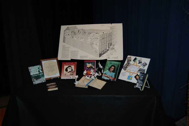 Holocaust exhibit at Henderson Middle School is a tribute to the millions of people who lost their lives under the reign of Nazi Germany. Photo: Jay Cockrell / Jay Cockrell