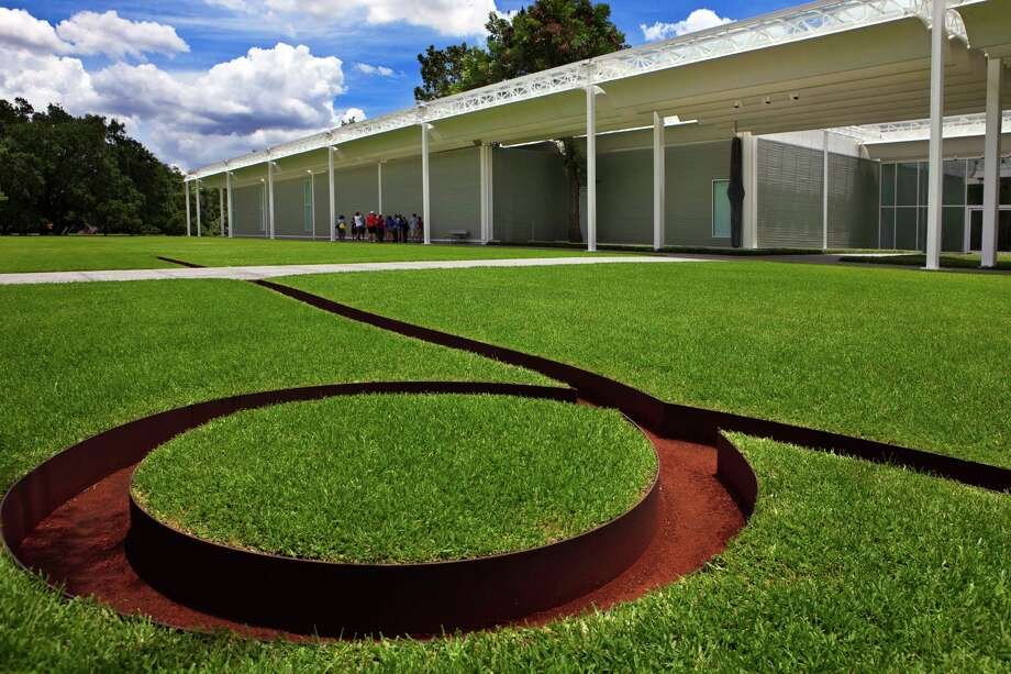 """Isolated Mass / Circumflex (#2)""  by Michael Heizer Photo: Menil Collection"
