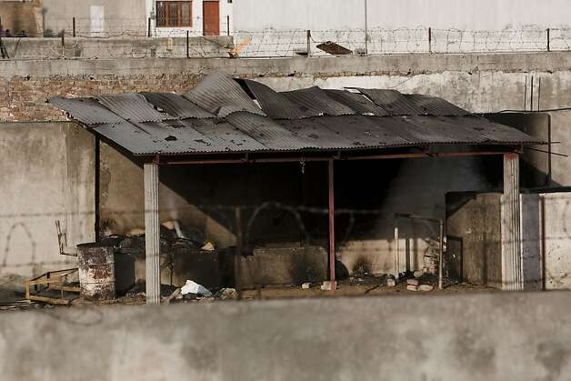 Inside Osama Bin Laden's compound, where he was killed during a raid by U.S. special forces, is seen May 3, 2011 in Abottabad, Pakistan. Bin Laden was killed during a U.S. military mission May 2, at the compound. Photo: Getty Images 2011, Getty Images