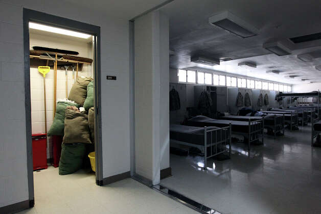 Doors are no longer allowed in the linen closets of basic trainee dormitories at Joint Base San Antonio - Lackland. As part of the recommendations from an investigation stemming from  numerous cases of sexual assault, new procedures and implementations such as removing doors from rooms which have potential to hide illicit activity have been started or put into place at Lackland. Photo: Kin Man Hui, San Antonio Express-News / © 2012 San Antonio Express-News