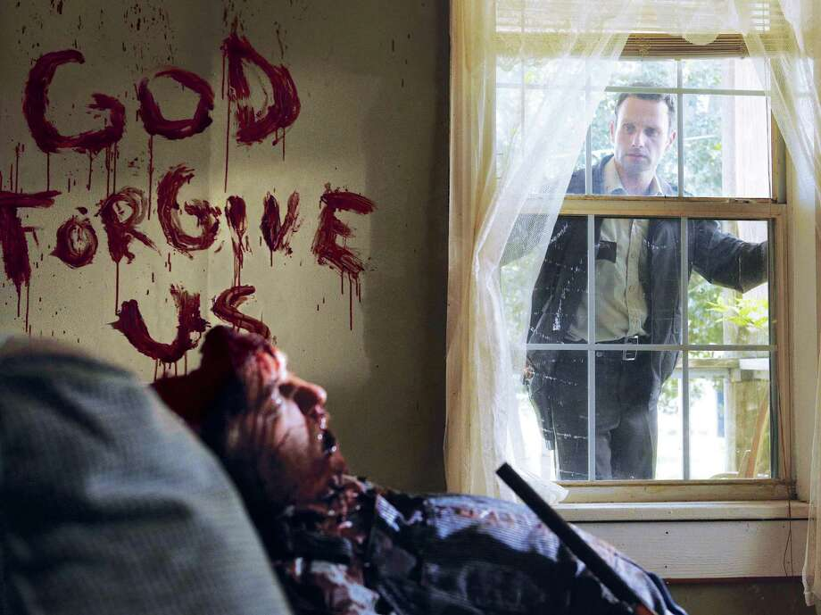 Rick begins exploring his hometown only to discover horror after horror. Photo: Scott Garfield/Courtesy Of AMC