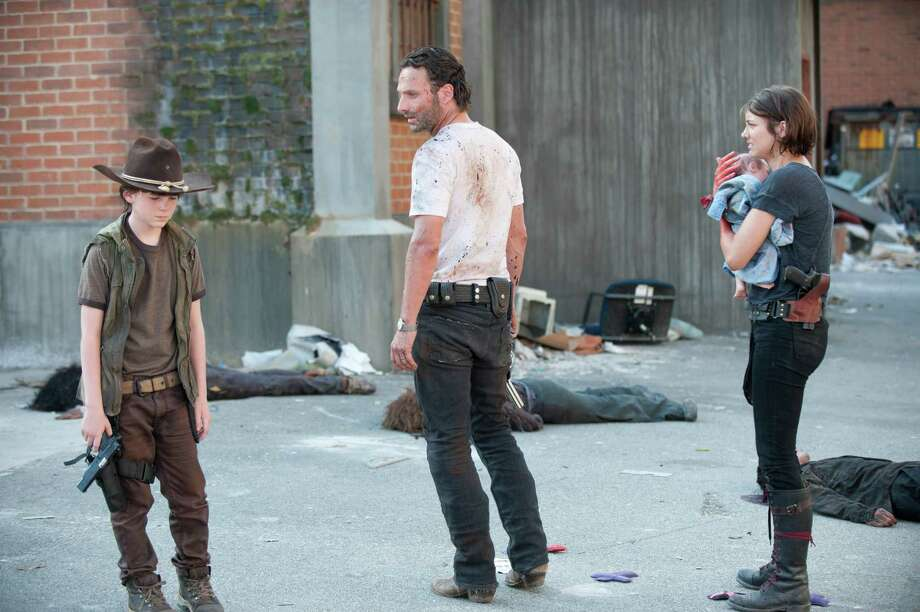 Daryl takes control as Rick breaks down and sends Glenn and Maggie in search of formula for the baby. They are successful and Rick pulls himself out of his depression. Rick and Carl decide to name the baby Judith. Photo: Gene Page/Courtesy Of AMC