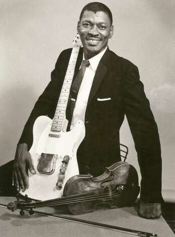 "Clarence ""Gatemouth"" Brown, an Orange native, helped shape Texas blues. Photos and other artifacts from musicians who shaped our local musical culture will be on display at the Museum of the Gulf Coast's ""The Rains Came"" exhibit opening this weekend. Photo courtesy of the Museum of the Gulf Coast Photo: Courtesy"
