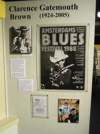"Clarence ""Gatemouth"" Brown exhibit at Museum of the Gulf Coast. Provided photo. The Enterprise Photo: The Enterprise"