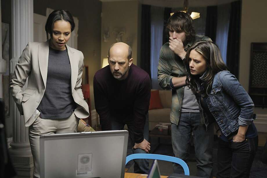 """Zero Hour"" stars Anthony Edwards as Hank, Carmen Ejogo as Beck, Scott Michael Foster as Aaron, Addison Timlin as Rachel, Jacinda Barrett as Laila and Michael Nyqvist as White Vincent. Photo: Phillippe Bosse, ABC"