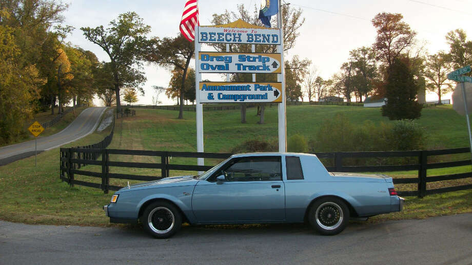 About eight years ago, Mahnke got a Buick of his own, when he bought this 1986 Buick Regal T type, which he modified and restored over the next several years.