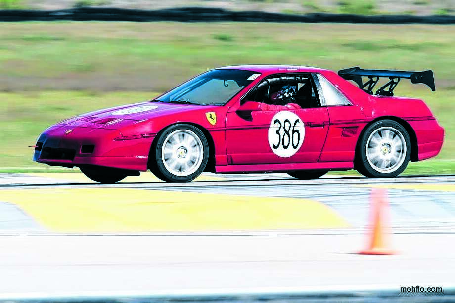 Rober Mahnke created a Ferrari-inspired Fiero for the 24 hours of Lemons race.,Rober Mahnke created a Ferrari-inspired Fiero for the 24 hours of Lemons race.