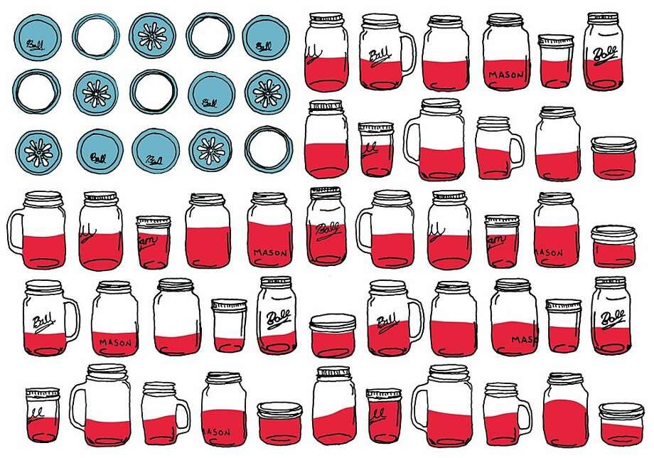 America in a jar Photo: Jillian Welsh, The Chronicle