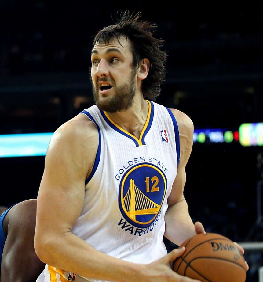 A doctor says  Andrew Bogut's back pain is  probably unrelated to his other health issues. Photo: Lance Iversen, The Chronicle